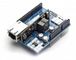 Arduino - Arduino Ethernet Shield Rev3 PoE Modül ile birlikte