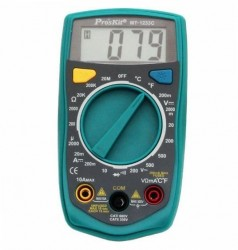 Pro'sKIT - Dijital Multimetre Pro'sKIT MT-1233C (Sıcaklık)