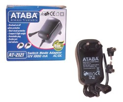 Ataba - 12V 1000mA AC/DC Switch Mode Adaptör - AT-2121