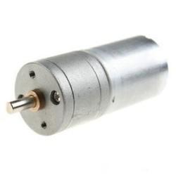 - 12V 200Rpm 25mm Redüktörlü DC Motor