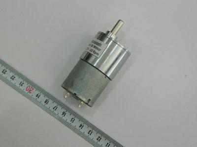 12V 90Rpm 37mm Redüktörlü DC Motor