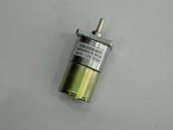 12V Redüktörlü Dc Motor - Kare 37mm çap - 90mm yükseklik - Thumbnail