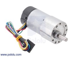 Pololu - 19: 1 Metal Redüktörlü Motor 37Dx68L mm, 64 CPR Enkoderli