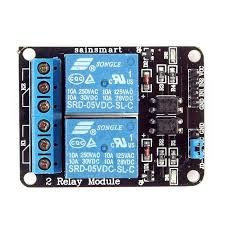 - 2 Channel 5V Relay Module