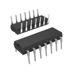 - 24C02 - DIP8 DIP EEPROM Entegre