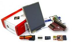 4D Systems - 2.8'' Raspberry Pi Uyumlu Dokunmatik LCD Modülü