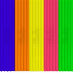 3Doodler - 3Doodler Super Fruit FLEXY Çubuk Filament 25 Adet