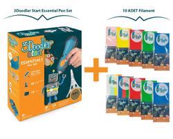 3Doodler - 3Doodler Start Essential Pen Set + 10 Adet Filament