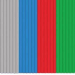 3Doodler - 3Doodler Start Mavi-Kırmızı-Yeşil-Gri PLA Çubuk Filament 24 Adet