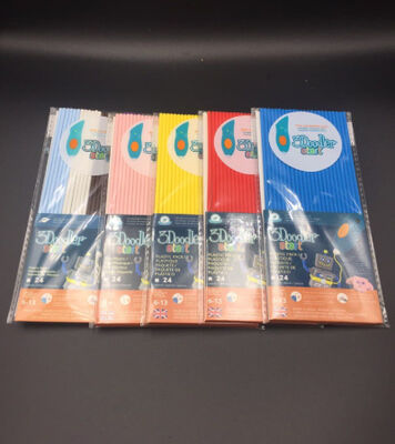 3Doodler Start PLA Çubuk Filament 24'lü 5 Paket (Ana Renkler)