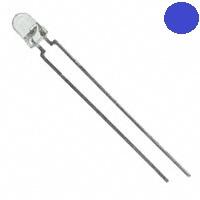 Çin - 3mm Şeffaf Mavi LED