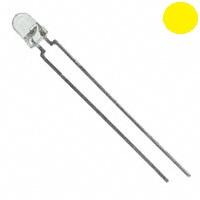 Çin - 3mm Şeffaf Sarı LED