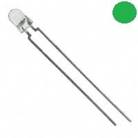 - 3mm Şeffaf Yeşil LED