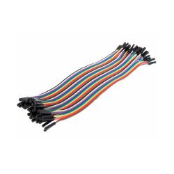 - 40 Pin Dişi-Dişi Jumper Kablo 20cm