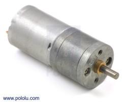 Pololu - 4.4: 1 Metal Redüktörlü Motor 25Dx48L mm HP 12V