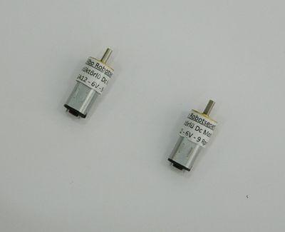 6V Redüktörlü Mikro Dc Motor Özel 9 Rpm (12mm Çap)