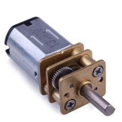 Pololu - Pololu 75:1 MicroMetalRedüktörlü MotorHPCB 6V 400rpm- Dual Şaft PL-3074