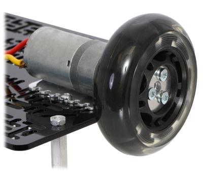 75:1 Metal Gearmotor 25Dx69L mm LP 12V with 48 CPR Encoder