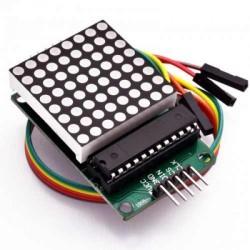 Çin - 8X8 Dot Matrix Modülü - MAX7219