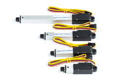 Actuonix - Actuonix L12-30-50-12-P, Pozisyon Geri Beslemeli Mikro Lineer Aktüatör, 12V