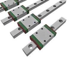 Actuonix Mikro Lineer Kızak (Ray) - 100mm strok - Thumbnail