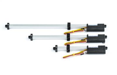 Actuonix T16-200-64-12-P, Kızaklı Lineer Aktüatör, Pozisyon Geri Beslemeli