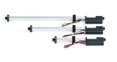 Actuonix T16-300-64-12-S, Kızaklı Lineer Aktüatör, Track Actuator, Limit SW