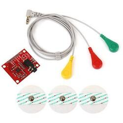 Çin - AD8232 EMG Kalp Atışı Nabız Grafiği İzleme EKG Modülü Kiti