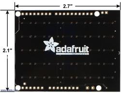 Adafruit NeoPixel Shield for Arduino - 40 RGB LED Pixel Matrix - Thumbnail