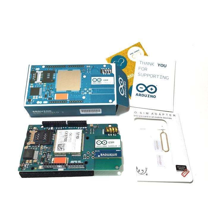 Arduino gsm shield a