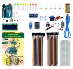 - Arduino Proje Maker Öğrenci Seti (Kitaplı Videolu) - Yonca Özgün