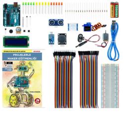 - Arduino Proje Maker Öğretmen Seti (Kitaplı Videolu) - Yonca Özgün