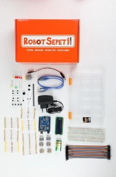 Arduino Başlangıç Seti Kitapsız (Klon)