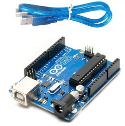 Çin - Arduino Uno R3 DIP Klon - (USB Kablo Dahil)