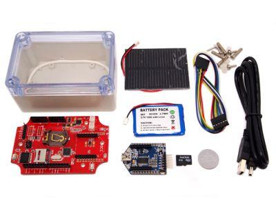 Arduino - Arduino Uyumlu Seeeduino Waterproof Solar Kit