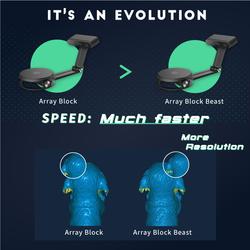 Blackbox3D Array Block Beast Masaüstü 3D Tarayıcı ( 3D Scanner ) - Thumbnail