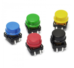 - Button - Şapkalı Sarı (12x12)