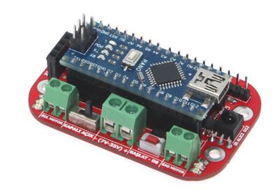 Arduino Hızlı Çizgi İzleyen Robot Kartı (Arduino Nano hariç)