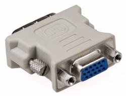 - DVI (24+1) Erkek - VGA Dişi Dönüştürücü