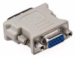DVI (24+1) Erkek - VGA Dişi Dönüştürücü