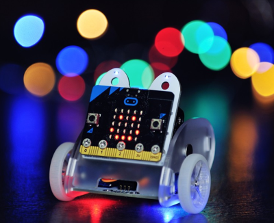 Elecfreaks, micro:bit için Ring:bit Araba v2 ( micro:bit hariç )