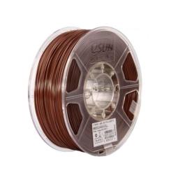 Esun - ESUN 1.75mm Kahveren ABS + Plus Filament -Brown