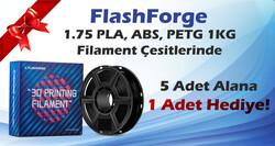 FlashForge - FlashForge ABS Filament 5+1 Kampanya Paketi