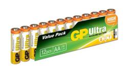 - GP 1.5V AA LR6 Ultra Plus Alkalin Pil 12 adet