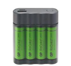 - GP X411 4x2600mAh USB Şarj Cihazı ve Powerbank