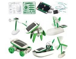 Güneş Enerjili Eğitim Kiti - 6 in 1 - Thumbnail
