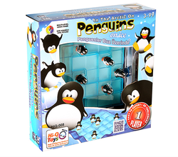 Hi-Q - Hi-Q Toys Penguins On Ice Penguenler Buz Üzerinde