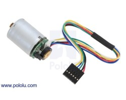 Pololu - Pololu 25D mm Metal Redüktörlü Motorlar İçin 48 CPR Encoder İle HP 12V Motor (No Gearbox)