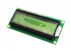 Elecfreaks - Elecfreaks 2x16 LCD Ekran I2C Modüllü Yeşil