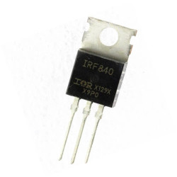 - IRF840 Mosfet - 8A 500V